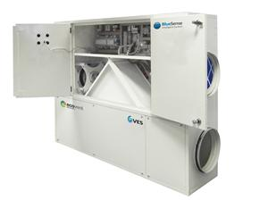 New Range of Ecovent Heat Recovery Ventilation Online Now!