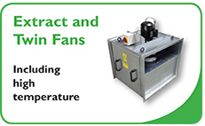 Extract and Twin Fan Units